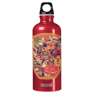 Transformers | Two Species at War Water Bottle