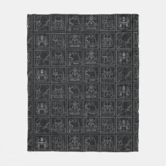 Transformers | Vintage Autobots Fleece Blanket