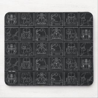 Transformers | Vintage Autobots Mouse Pad
