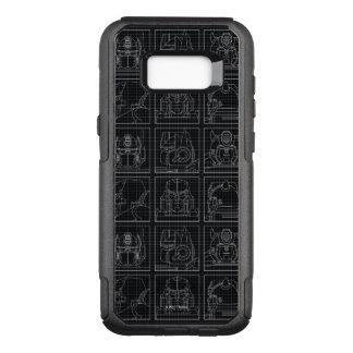 Transformers | Vintage Autobots OtterBox Commuter Samsung Galaxy S8+ Case