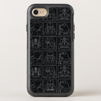 Transformers | Vintage Autobots OtterBox Symmetry iPhone 8/7 Case