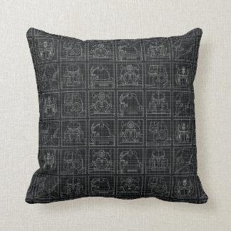 Transformers | Vintage Autobots Throw Pillow