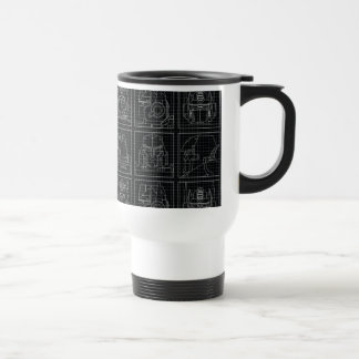 Transformers | Vintage Autobots Travel Mug