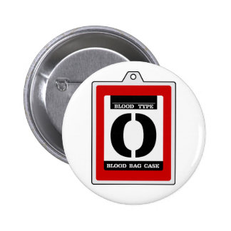 Transfusion pack (O type) 2 Inch Round Button