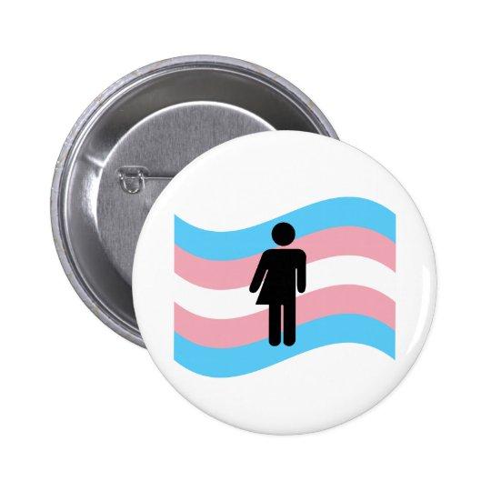 Transgender 2 Inch Round Button
