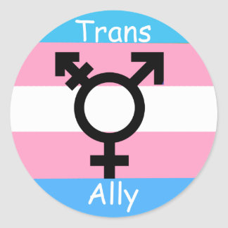 Transgender Ally Awareness Pride Sticker