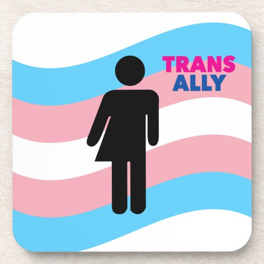 Transgender Beverage Coaster
