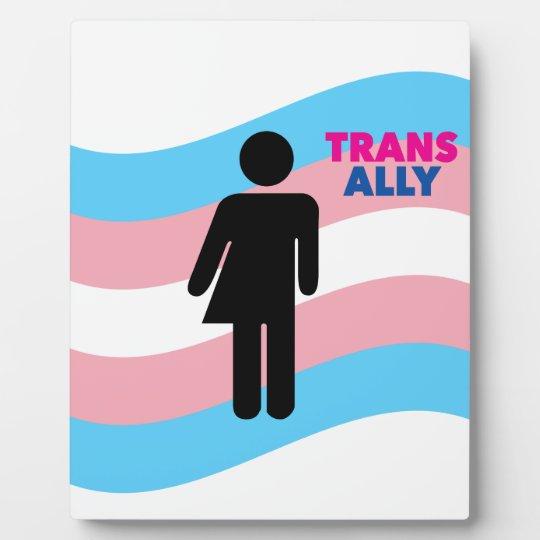 Transgender Display Plaque