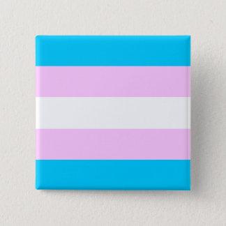 Transgender flag 2 inch square button