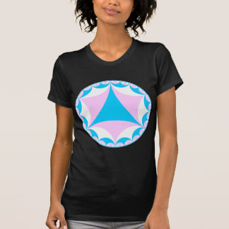 Transgender/intersex colors fractal T-Shirt