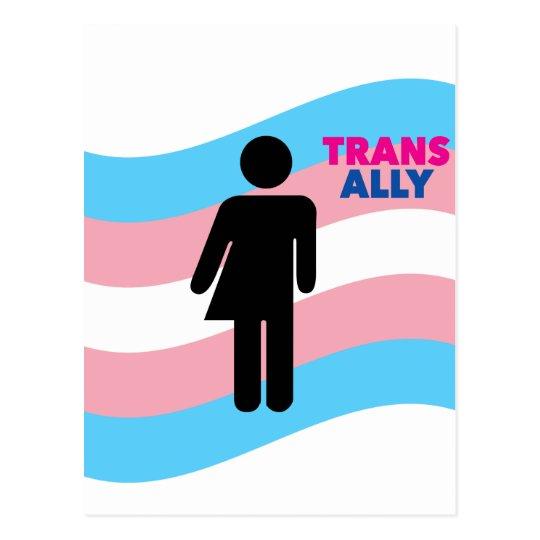 Transgender Postcard
