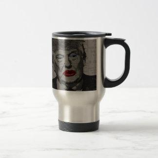 Transgender president travel mug