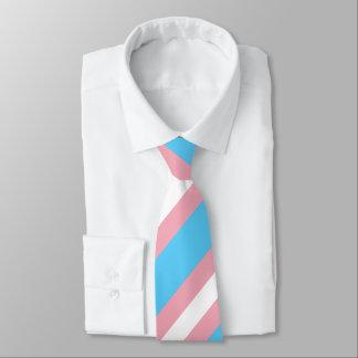 Transgender Pride Flag Colors LGBT Tie