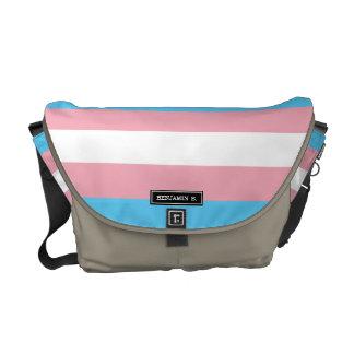 Transgender Pride Flag Commuter Bags