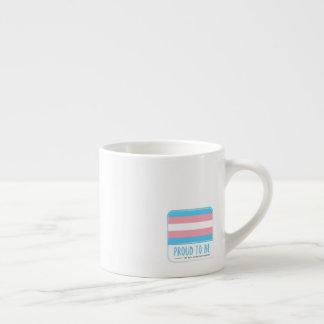 Transgender | Pride Flag Design | Stripes | Espresso Cup