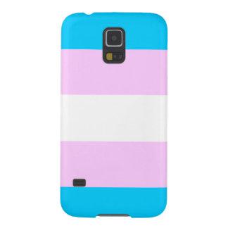 Transgender pride flag galaxy s5 cases
