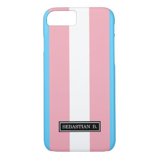 Transgender Pride Flag iPhone 7 Case