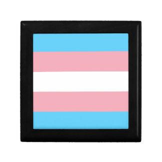 Transgender Pride Flag - LGBT Trans Rainbow Keepsake Box