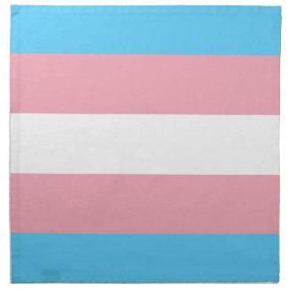 Transgender Pride Flag - LGBT Trans Rainbow Napkin