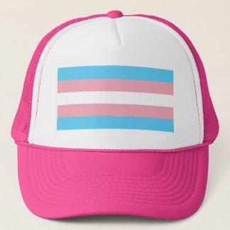 Transgender Pride Flag - LGBT Trans Rainbow Trucker Hat