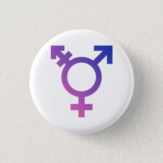 Transgender Symbol 1 Inch Round Button