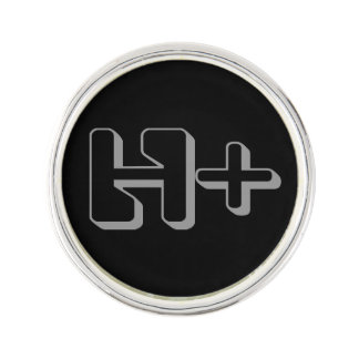 Transhumanist lapel badge lapel pin