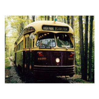 Transit Toronto Postcard 001 - PCC Forest
