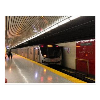 Transit Toronto Postcard 002 - Lawrence Rocket