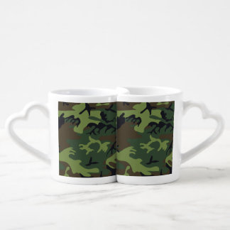 Transitional Camouflage Patterns Coffee Mug Set