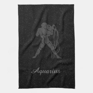 Translucent Aquarius Kitchen Towel