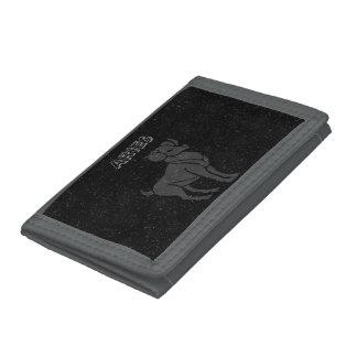 Translucent Aries Tri-fold Wallets