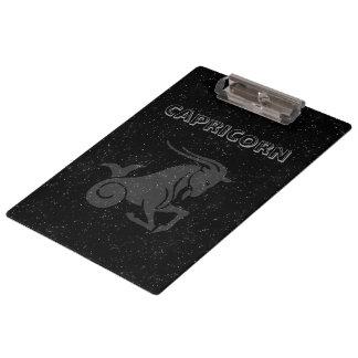 Translucent Capricorn Clipboard