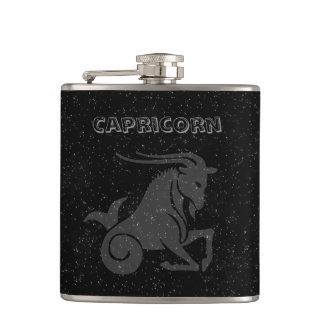 Translucent Capricorn Hip Flask