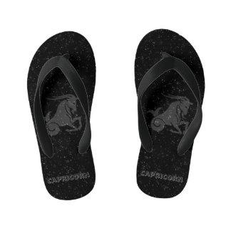 Translucent Capricorn Kid's Flip Flops