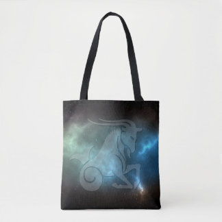 Translucent Capricorn Tote Bag
