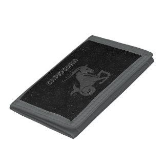 Translucent Capricorn Tri-fold Wallet