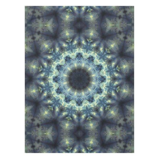 Translucent Crystal Kaleidoscope Mandala Tablecloth
