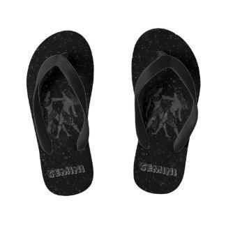 Translucent Gemini Kid's Flip Flops