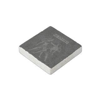 Translucent Gemini Stone Magnets