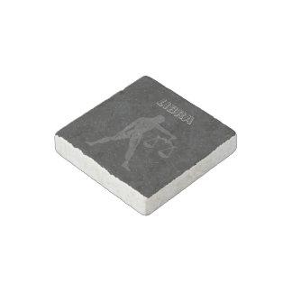 Translucent Libra Stone Magnets