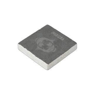 Translucent Pisces Stone Magnets