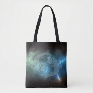 Translucent Pisces Tote Bag