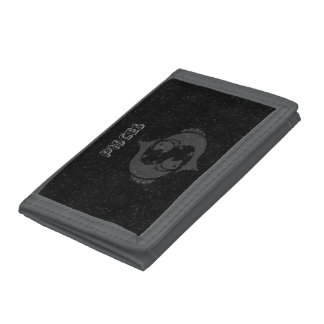 Translucent Pisces Tri-fold Wallets