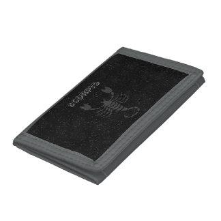 Translucent Scorpio Tri-fold Wallets