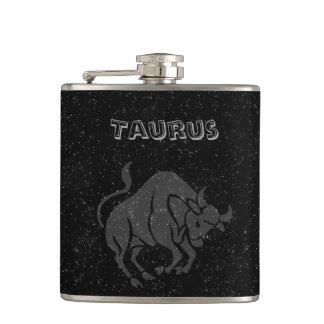 Translucent Taurus Hip Flask