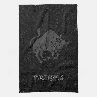 Translucent Taurus Kitchen Towel