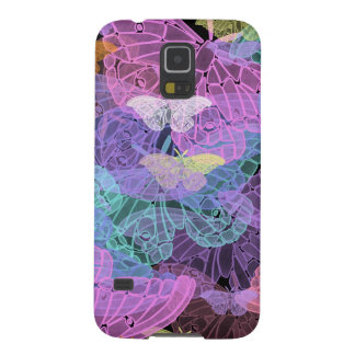 Transluscent Butterflies Abstract Art Cases For Galaxy S5