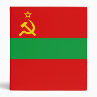 Transnistria Flag 3 Ring Binders