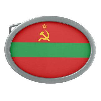 Transnistria Flag Belt Buckles