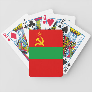 Transnistria Flag Bicycle Playing Cards